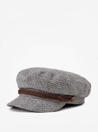 Pu0103lu0103rie cu cozoroc Brixton Fiddler Cap (heather grey/cream)