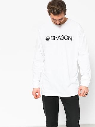 Tricou Dragon Trademark Staple Line (white)
