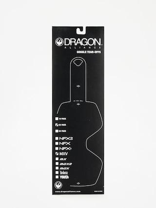 Szybka do gogli Dragon MXV (tear off 20 pack clear)