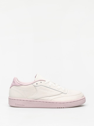 Pantofi Reebok Club C 85 Wmn (chalk/lilac/fierce g)