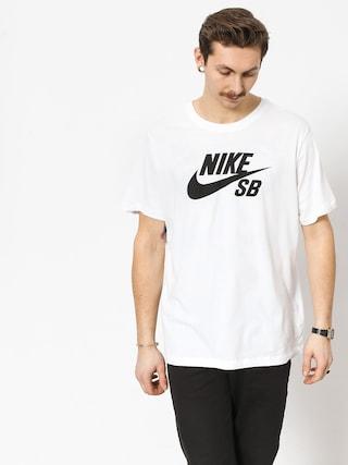 Tricou Nike SB Sb Dri Fit (white/black)