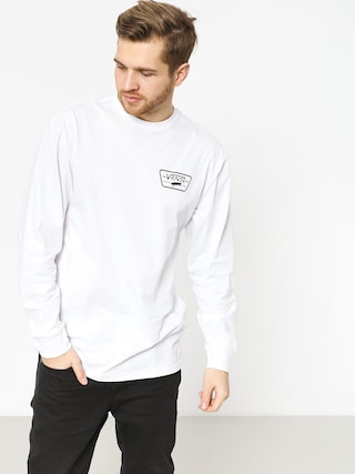 Tricou Vans Full Patch Back (white/black)