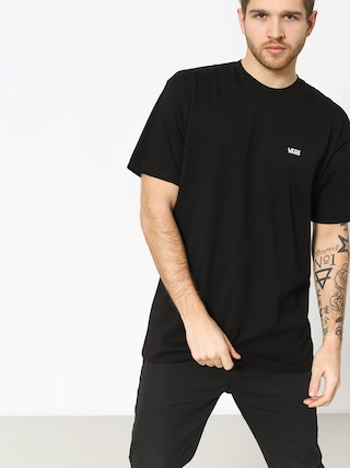 Tricou Vans Left Chest Logo (black/white)