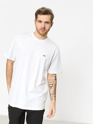 Tricou Vans Left Chest Logo (white/black)