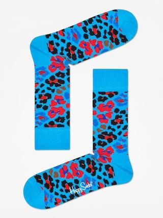 u0218osete Happy Socks Leopard (blue/red/black)