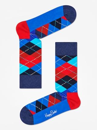 u0218osete Happy Socks Argyle (black/blue/red)