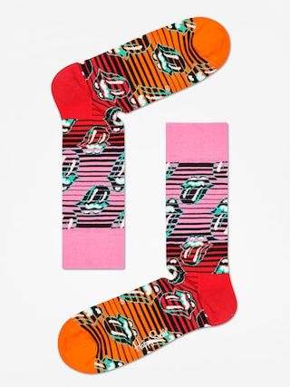 u0218osete Happy Socks Rolling Stones (pink/red/orange)