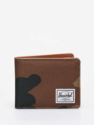 Portofel Herschel Supply Co. Hank Rfid (woodland camo)