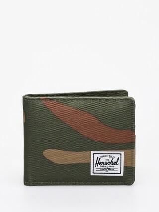 Portofel Herschel Supply Co. Roy Coin Rfid (woodland camo/army)