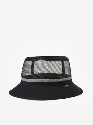 Pu0103lu0103rie Brixton Hardy Bucket Hat (black/grey)
