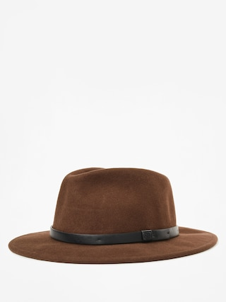Pu0103lu0103rie Brixton Messer Fedora (brown/black)