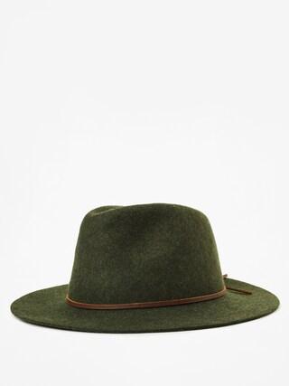 Pu0103lu0103rie Brixton Wesley Fedora (heather green)