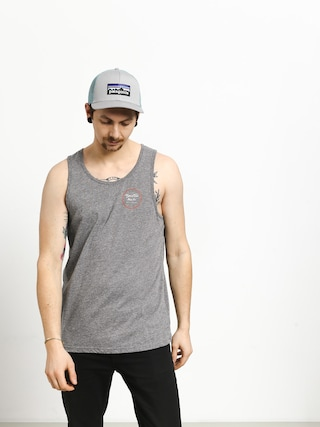 Tricou Brixton Wheeler Tank Top (heather grey/henna)