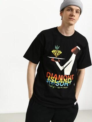 Tricou Diamond Supply Co. Diamond Resort (black)