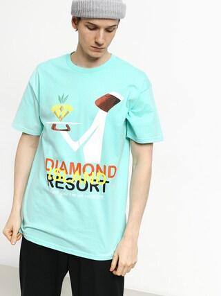 Tricou Diamond Supply Co. Diamond Resort (diamond blue)