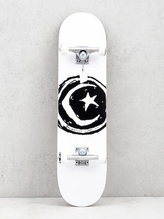 Skateboard Foundation Star And Moon (white/black)