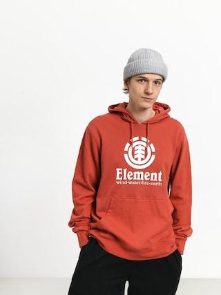 Hanorac cu glugu0103 Element Vertical HD (etruscan red)