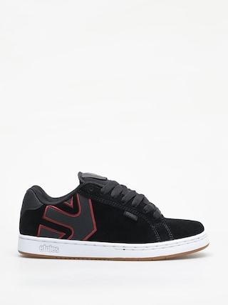Pantofi Etnies Fader (black/white/burgundy)