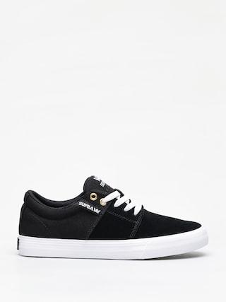 Pantofi Supra Stacks Vulc II (black/black white)