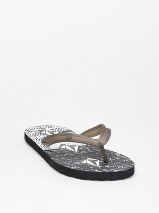 papuci de plaju0103 Volcom Rocker 2 (bwh)