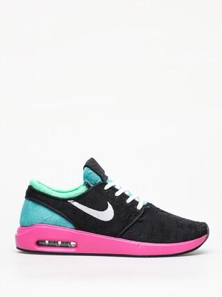 Pantofi Nike SB Sb Air Max Janoski 2 (black/white cabana electro green)