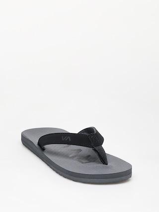 papuci de plaju0103 RVCA Subtropic Sandal (smoke)