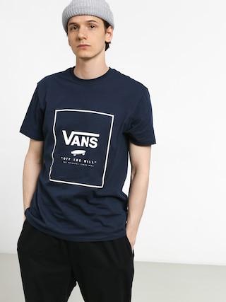 Tricou Vans Print Box (dress blues/white)