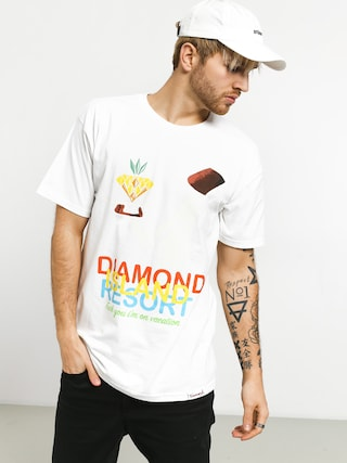 Tricou Diamond Supply Co. Diamond Resort (white)