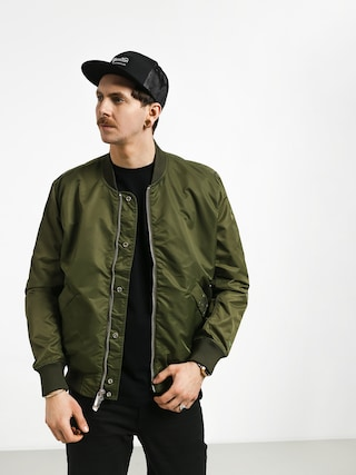 Geacu0103 Diamond Supply Co. Panelled Bomber (olive)