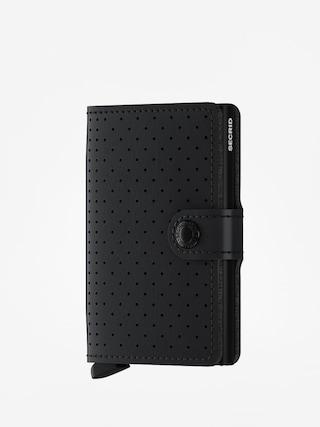 Portofel Secrid Miniwallet (perforated black)