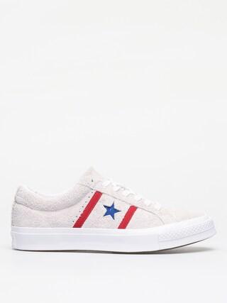 Pantofi Converse One Star Academy Ox (white/red/blue)