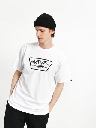 Tricou Vans Full Patch (white/black)