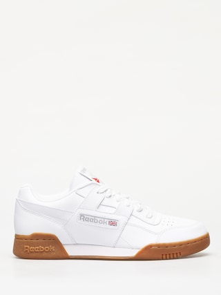 Pantofi Reebok Workout Plus (white carbon/classic red/reebok royal gum)