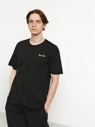 Tricou Brixton Grade III Stt (black/gold)