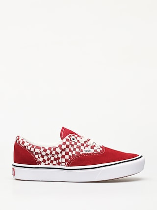 Pantofi Vans ComfyCush Era (tear check/racing red/true white)