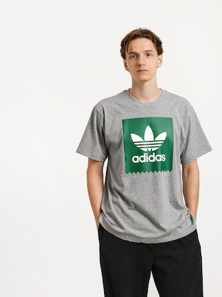 Tricou adidas Solid Bb (core heather/bold green)