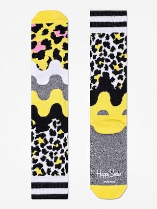 u0218osete Happy Socks Athletic Animal (yellow/black/multi)