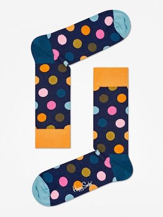 u0218osete Happy Socks Big Dot (orange/navy/teal)