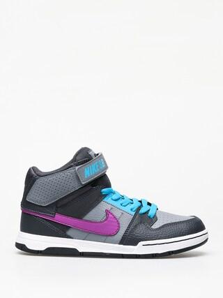 Pantofi pentru copii Nike SB Mogan Mid 2 Jr Gs (cool grey/vivid purple blue lagoon)
