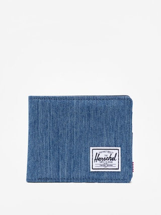Portofel Herschel Supply Co. Roy Rfid (faded denim/indigo denim)