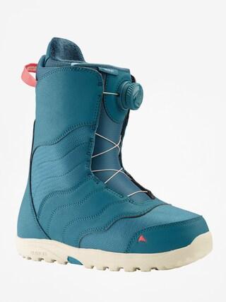 u00cencu0103lu021bu0103minte pentru snowboard Burton Mint Boa Wmn (storm blue)