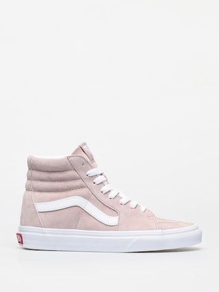 Pantofi Vans Sk8 Hi (pig suede/shadow gray/true white)