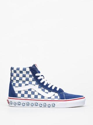 Pantofi Vans Sk8 Hi Reissue (vans bmx/true navy/white)
