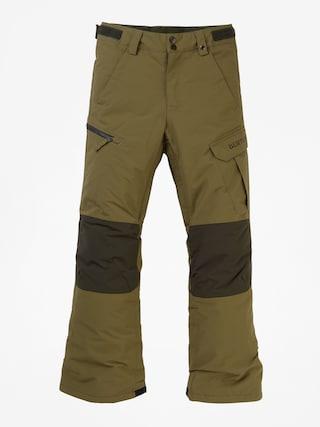 Pantaloni pentru snowboard Burton Exile Cargo (martini olive)