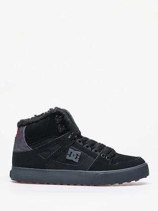 Pantofi de iarnu0103 DC Pure Ht Wc Wnt (black/grey/red)