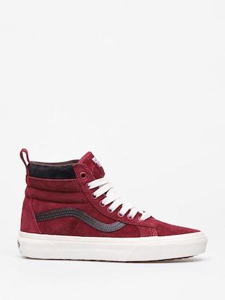 Pantofi Vans Sk8 Hi Mte (biking red/charcoal)
