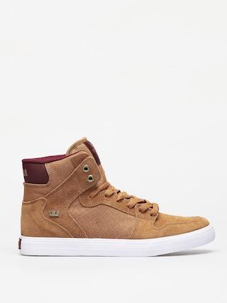Pantofi Supra Vaider (tan/wine white)