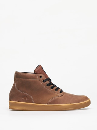 Pantofi Emerica Romero Laced High (brown/black/gum)