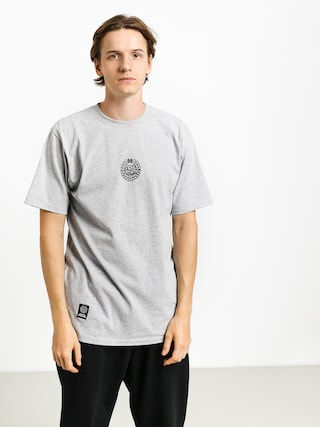 Tricou MassDnm Base Small Logo (light heather grey)