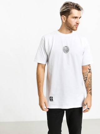Tricou MassDnm Base Small Logo (white)